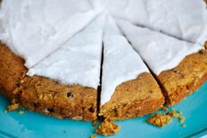 Gluten Free Vegan Chocolate Chip Cake