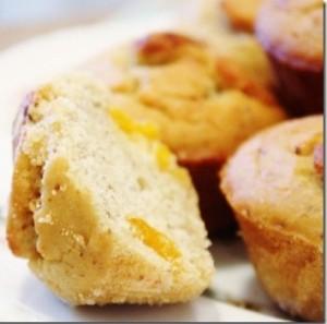 Gluten Free Apricot Muffins