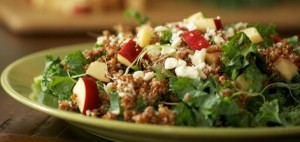Quinoa Salad with Apple and Kale