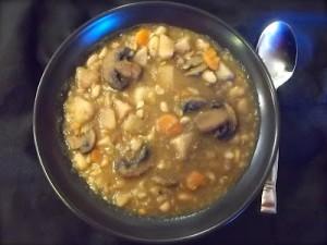 White Potato Borscht Soup