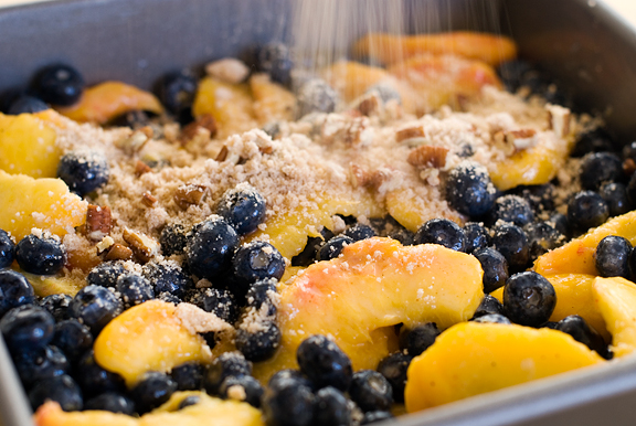 peach salsa blueberry amaretti crisp easy gluten free blueberry crisp ...
