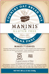 Maninis Bread Mix